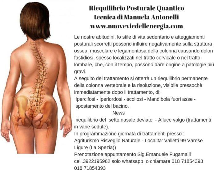 manuela antonelli , riequilibrio posturale